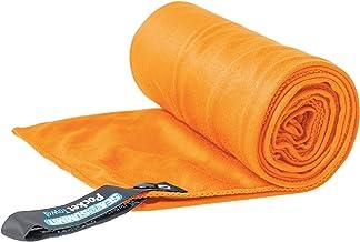 مناشف حمام من سي تو سامت بنمط سادة مختلط، برتقالي