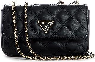 Guess Damen Handbag Handtasche, Schwarz, Einheitsgröße