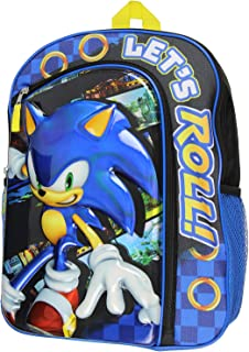 Sonic The Hedgehog Molded Iridescent Laptop Backpack 16 Inch