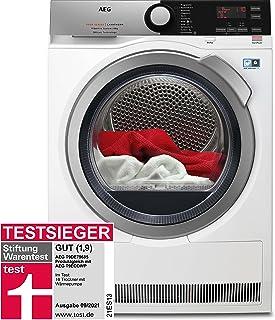 AEG T9DE79685 Wärmepumpentrockner / 3D Scan - Trocknet Nachhaltiger / FiberPro - Punktgenaue Trockenergebnisse / 8,0 kg / A+++ / energiesparend / Mengenautomatik / Knitterschutz / Kindersicherung