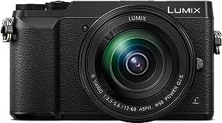 Panasonic Lumix DMC-GX80M - Cámara EVIL de 16 MP Pantalla de 3 Estabilizador Óptico de 5 Ejes RAW Wi-Fi 4K Kit con Objetivo Lumix Vario 12 - 60 mm/F3.5-5.6 Color Negro
