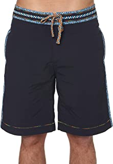 Robert Graham Queequeg Solid Board Shorts Big Fit