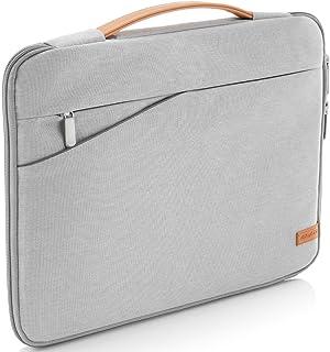 deleyCON Funda de Protección para Notebooks y Ordenadores Portátiles de 15,6