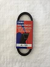GW Belts Reel Mower Drive Belt Replacement 1060 (19 1/2