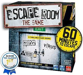 Goliath Games Escape Room 3-pack familjespel för 16+, flerfärgad
