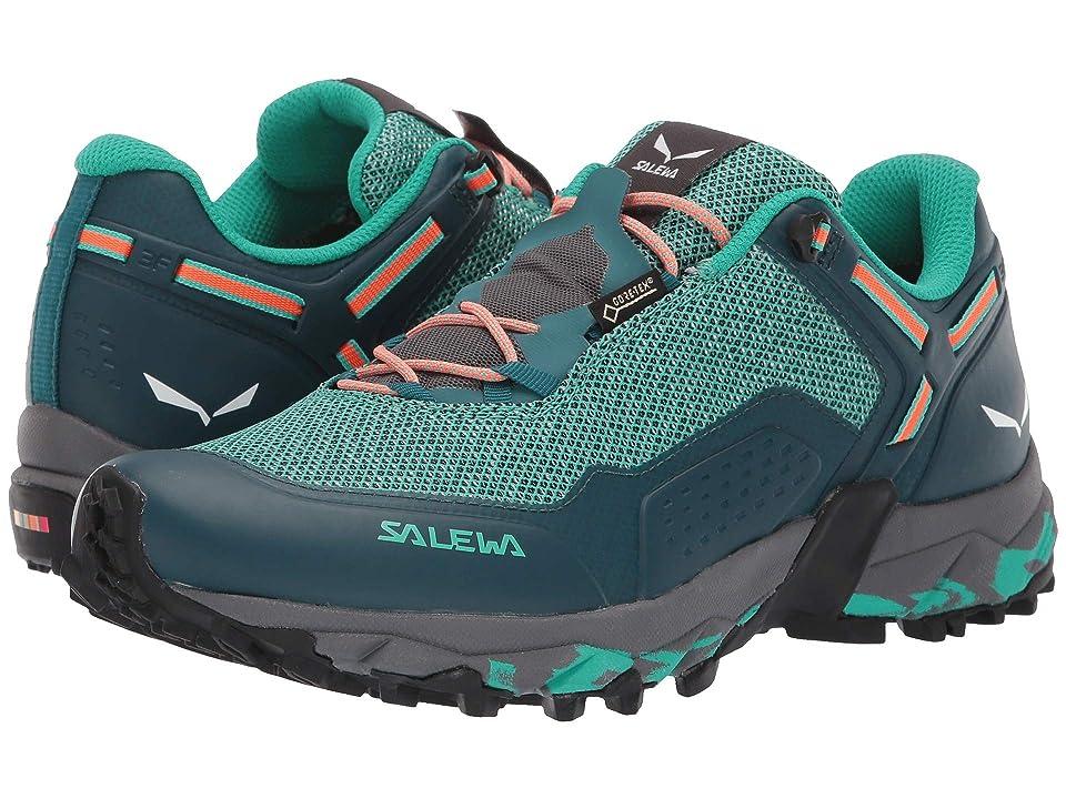 SALEWA Speed Beat GTX (Shaded Spruce/Fluo Coral) Women