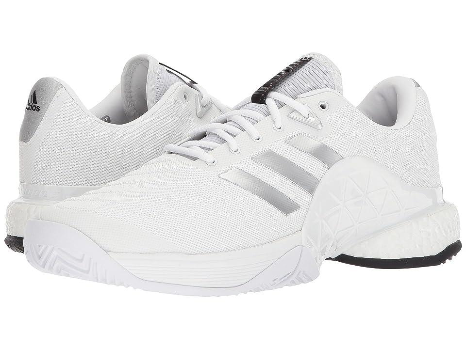 adidas Barricade 2018 Boost (White/Core Black/White) Men