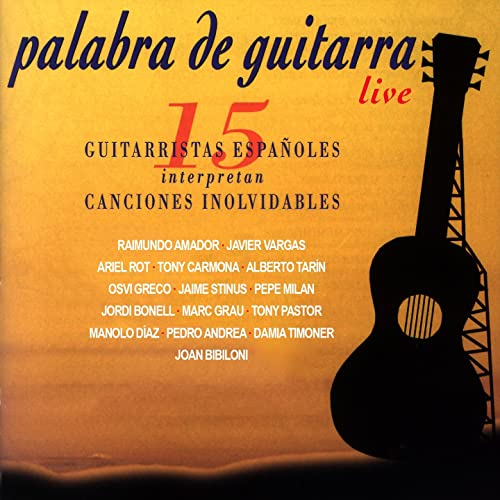 Palabra de Guitarra (En Vivo) de Joan Bibiloni en Amazon Music ...