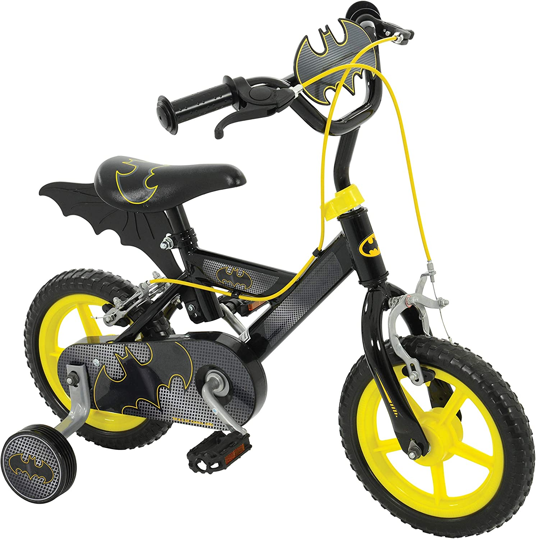 Batman 12 Inch Bat Bike schwarz MV Sports Ages 3 Years+