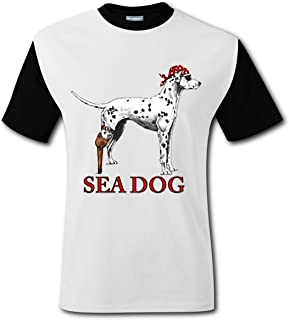 B4DDS 36E Men's Sea Dog T-Shirt,The Office T-Shirts, TV Show T-Shirts