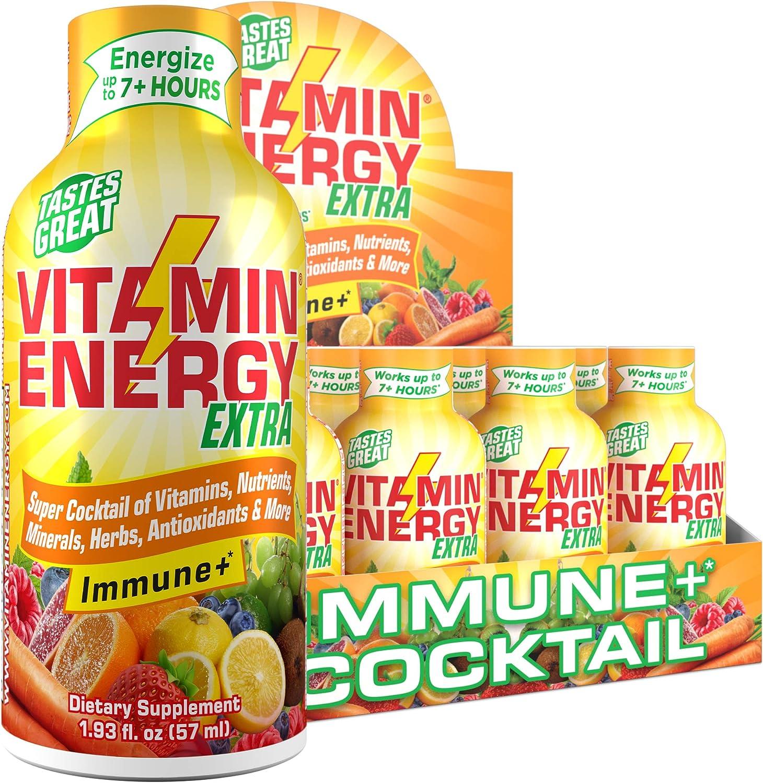 24 有名な Pack VitaminEnergy™ Extra Immune+ to up Last Energy Shots 期間限定今なら送料無料