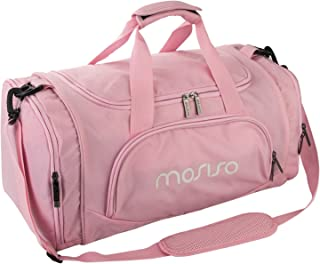 MOSISO Water Resistant Gym Sports Dance Travel Weekender Duffel Bag with  Shoe Compartment 68687acb91ec3