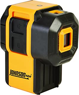 Johnson Level & Tool 40-6646 Self-Leveling 3 Dot Laser with 2 Plumb Dots and 1 Level Dot