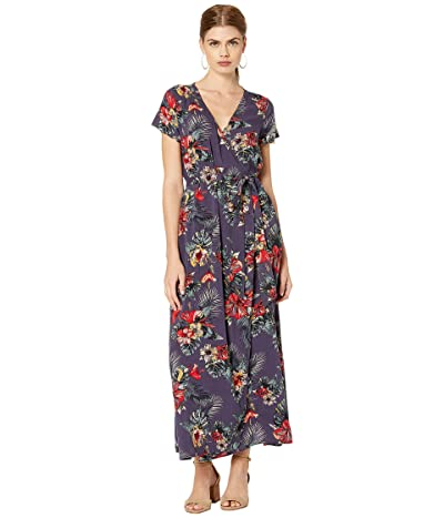 Roxy District Day Dress (Mood Indigo Tropical Nights) Women