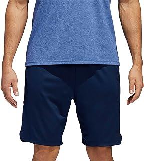 adidas Mens Axis Knit Training Shorts Drawstring - Blue
