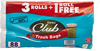 Sanita Trash Bags Club, 10 Gallons, 88 Bags, OXO Biodegradable