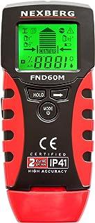 NEXBERG 5 in 1 Stud Finder Moisture Meter Detector Wall Scanner and Metal Detector - Easily Locate Wall Studs, Metals, Pip...