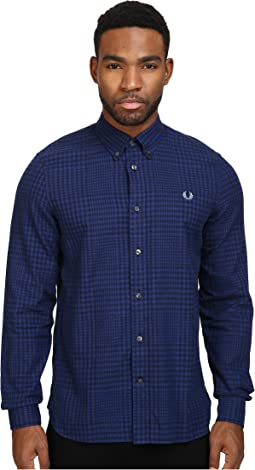 Fred Perry Distorted Gingham Twill Shirt