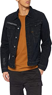G-STAR RAW Men's Arc 3D Slim JKT Arrow Print Aw Denim Jacket
