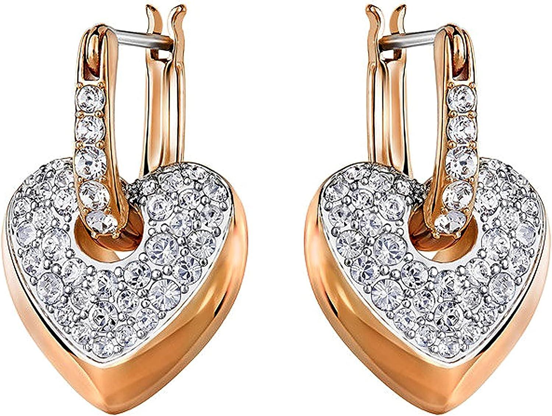 5190213 Woman Earrings Swarovski Pink Heart
