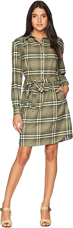 Stevie Plaid Shirtdress
