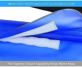 ANJ Outdoors 3-Zipper Design, The Most Durable 2PK Waterproof Pouch/Waterproof Bag   Adjustable Waist Strap   Ideal W...