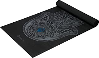 "Best Gaiam Yoga Mat - Classic 4mm Print Thick Non Slip Exercise & Fitness Mat for All Types of Yoga, Pilates & Floor Workouts (68"" x 24"" x 4mm) Review"