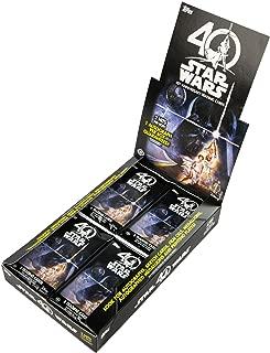 2017 Topps Star Wars 40th Anniversary Hobby Box of 24 packs