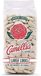 Camellia Large Dry Lima Beans 1 Pound Bag