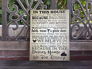 Best disney house rules canvas Reviews