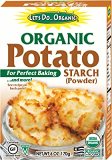 Let's Do...Organic Potato Starch Powder, 6 Ounce Boxes (Pack of 6)
