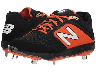 New Balance L3000v4 Baseball (Black/Orange) Men