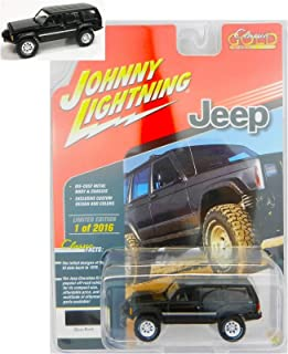 Lightning Black Jeep Cherokee 4x4 2018 Exclusive Rare Collect Diecast Vehicle Car