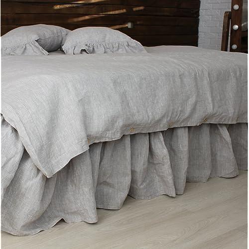 Linen Bedskirt Amazon Com