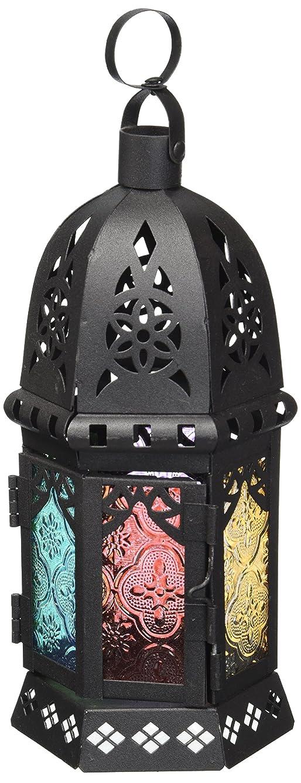 フロンティア値下げ特権的Koehler Home Decor GiftアクセントEnchantedレインボーCandle Lantern
