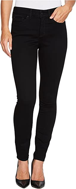Ami Skinny Legging Jeans in Luxury Touch Denim in Black