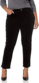 CHAPS Womens Plus Size 21 Wale Straight Corduroy-Pant
