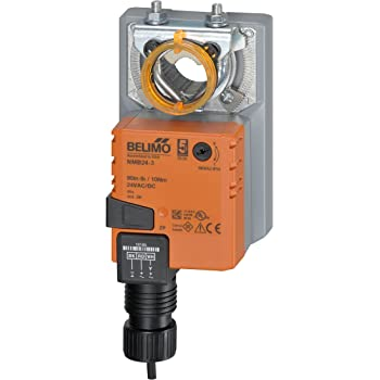 belimo amb24-sr modulating non-spring return damper actuator 4*O-23