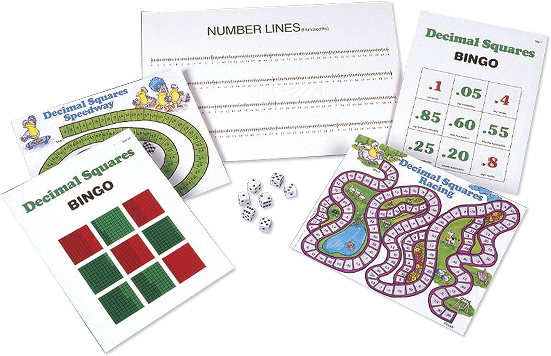 American Educational Dezimal Quadrate Aktivität Matten, Würfel und Spiel Marker Marker Marker B00845RUBU | Online Shop Europe  5bc938