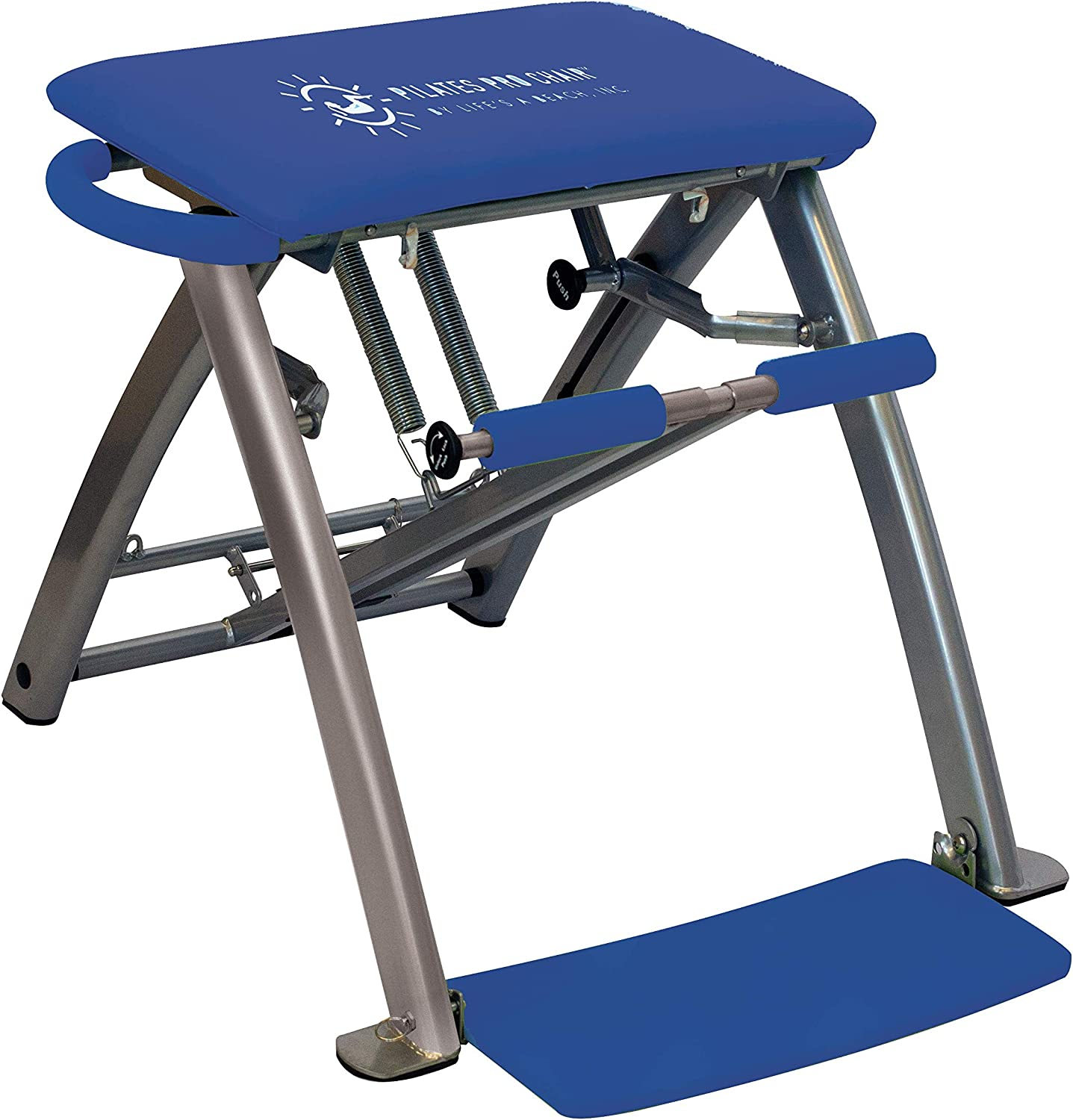 #2. Life's A Beach Pilates PRO Chair with 4 DVDs