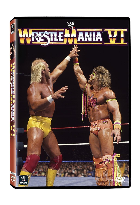 Amazon.com: WWE: WrestleMania VI : Hulk Hogan, Ultimate Warrior ...