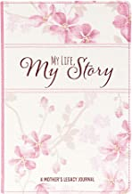 My Life My Story, A Mother's Legacy Journal - Pink Floral Prompted Journal