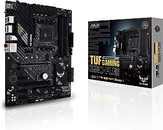 لوحة الأم للألعاب ASUS TUF GAMING B550-PLUS AMD AM4 (الجيل الثالث) ATX (PCIe 4.0، 2.5 جيجا بايت LAN، HDMI 2.1، فلاش POS Fl...