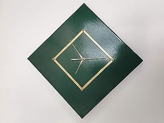 """Reloj de pared""""GREEN DIAMOND"""", hecho a mano y firmado"""