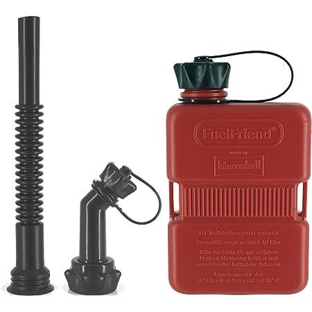 Fuelfriend Plus 1 0 Liter Klein Benzinkanister Mini Reservekanister Auslaufrohr Set Auto