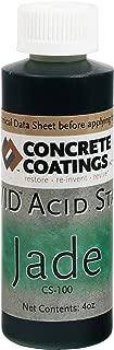VIVID Acid Stain - 4oz - Jade (Deep Green)