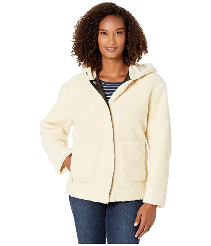 Berber Fleece Hooded Jacket (Natural) Women's Jacket