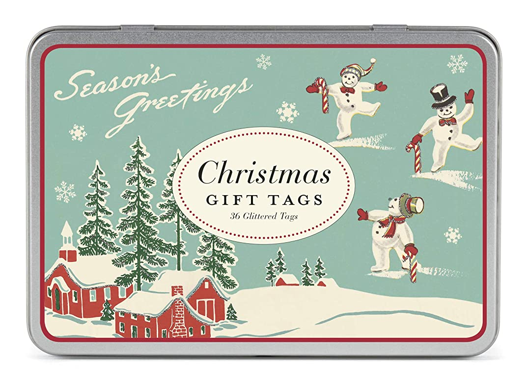 Cavallini Papers & Co., Inc. Christmas Winter Wonderland Glittered Gift Tag Set??