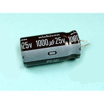 25V 100uf 6 pcs Nichicon FG Capacitors