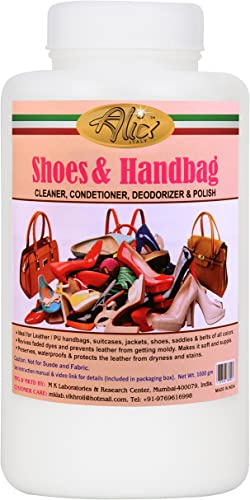 Alix Shoes Handbag Cleaner Polish With Advanced Oil Blends For Leather Nourishment